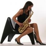 Woman Sax