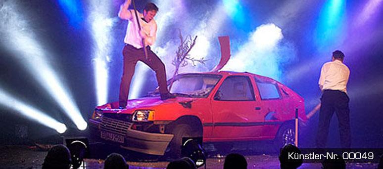 Auto Show mit hindernissen