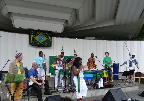 Afro Cuban Latin Jazz