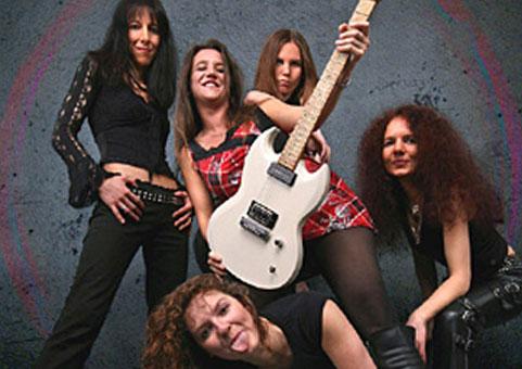 Weibliche Rockband