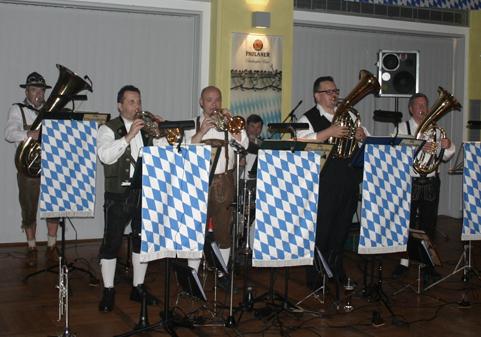 Original bayrische Wiesnstimmung