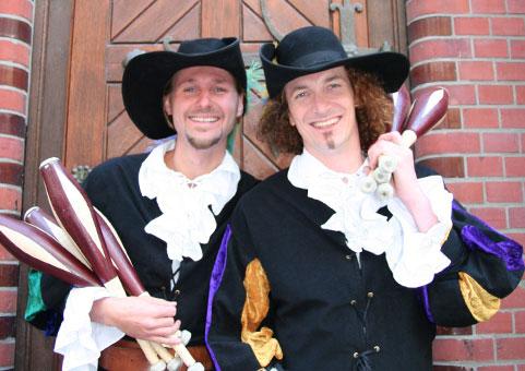 Mittelalterliche Comedy–Jonglage