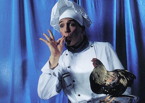 Französischer Comedy Koch
