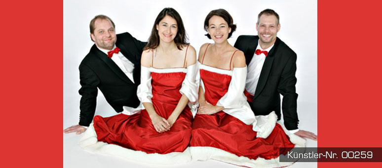 A-cappella-Gesang für Ihre Weihnachtsfeier.