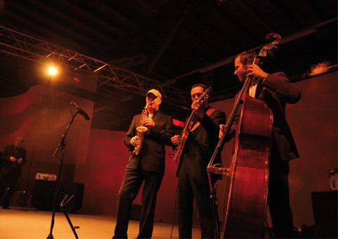 Jazzband für Events