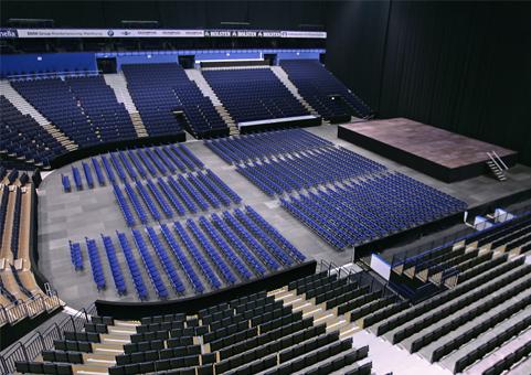 Arena, Konzerthalle