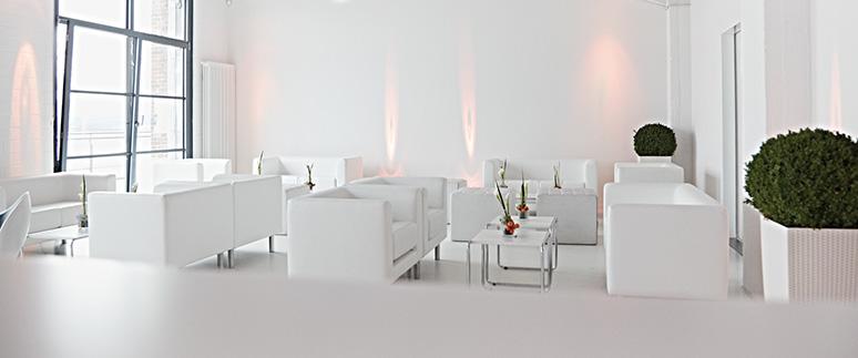 Ausstattung - Ambiente für Events